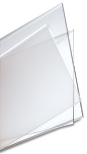 Clear acrylic sheet 3mm 24 ins x 72 ins